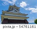 夏の日の「上山城」 山形上山 54761161