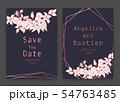 Save the date wedding card. Wedding invitation 54763485