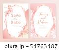 Save the date wedding card. Wedding invitation 54763487
