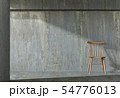 interior living concrete wall room with chair 54776013