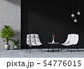 interior living room with armchair. 54776015