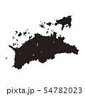 香川県地図 54782023