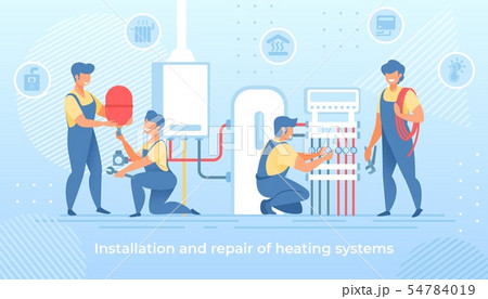 Installation and Repair of Electric Heating System 54784019
