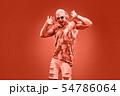 Fashion pumped-up DJ Music nightclub party concept 54786064