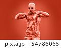 Fashion pumped-up DJ Music nightclub party concept 54786065
