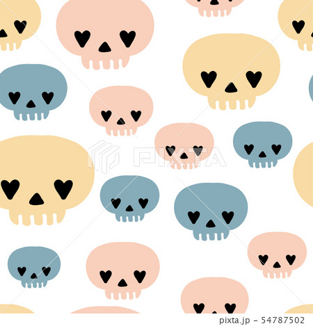 Vector witch magic seamless pattern  54787502