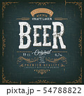 Vintage Beer Label For Bottle 54788822