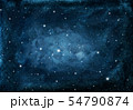 Watercolor night sky background with stars. 54790874