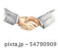 Businessman handshake. Two men shaking hands. 54790909