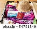 スーツケース 海外旅行保険付クレジットカード 夏 旅行 出張 パスポート 54791349