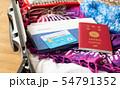 スーツケース 海外旅行保険付クレジットカード 夏 旅行 出張 パスポート 54791352