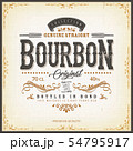 Vintage Whisky Label For Bottle 54795917