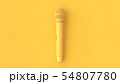Yellow Microphone music background. 54807780