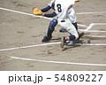 高校野球 クロスプレー 54809227