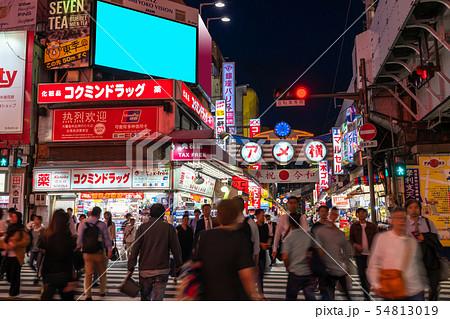 《東京都》上野・賑わうアメ横商店街 54813019