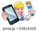 Painter Decorator Handyman Phone Concept 54814309