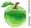 Apple Pixel Art 8 Bit Video Game Fruit Icon 54814310