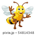 Bumble Honey Bee Bumblebee Cartoon Character 54814348
