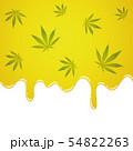 oil fluid yellow liquid with cannabis leaf 54822263