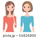 笑顔で話す女性たち 54826800
