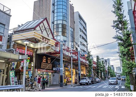 愛知県 名古屋都市風景 大須 54837550