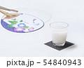 冷やし甘酒 健康飲料 飲む点滴 イメージ素材 54840943