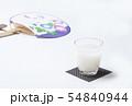 冷やし甘酒 健康飲料 飲む点滴 イメージ素材 54840944