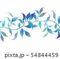 透明水彩 水彩画 木の葉 54844459