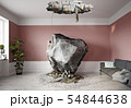 meteor falling into the living room. 54844638