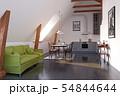 modern loft kitchen interior design. 54844644
