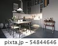 modern loft kitchen interior design. 54844646