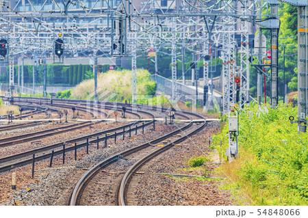 鉄道 線路イメージ   54848066