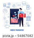 Mobile Money Transfers Composition 54867082