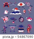 Japan Travel Set 54867090