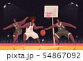 Basketball Match Sport Composition 54867092