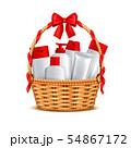 Cosmetics Basket Gift Realistic 54867172