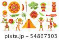 Maya Culture Doodle Set 54867303