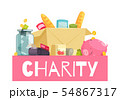 Charity Material Goods Composition 54867317
