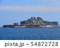 【長崎県】晴天下の軍艦島 54872728