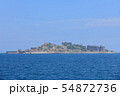 【長崎県】晴天下の軍艦島 54872736
