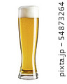 Glass of beer isolated. 54873264