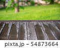 Empty wooden table background 54873664