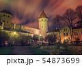 Tallinn view at night 54873699