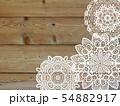 レース編み 手芸 レーブルクロス 敷物 編み物 模様 紋様 柄 54882917