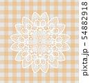レース編み 手芸 レーブルクロス 敷物 編み物 模様 紋様 柄 54882918