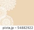 レース編み 手芸 レーブルクロス 敷物 編み物 模様 紋様 柄 54882922