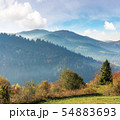 beautiful countryside in mountains 54883693