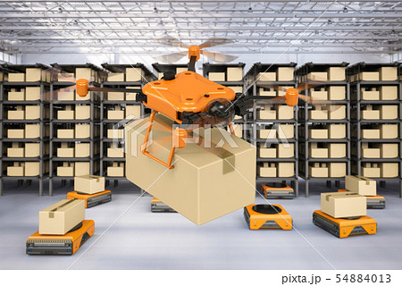 Automation warehouse concept 54884013