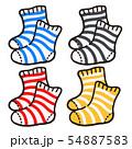 ボーダー靴下 セット 54887583