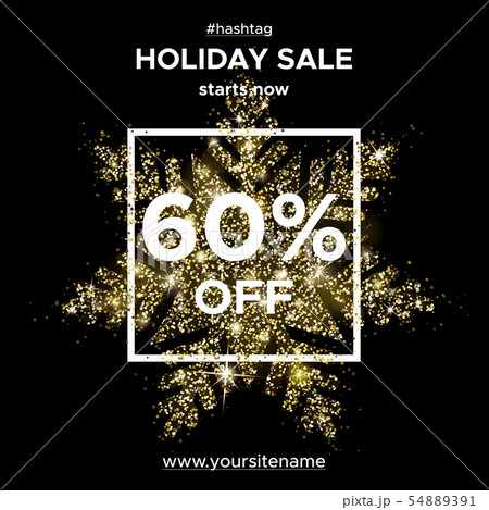Gold glitter. Snowflake of sparks. Sale 50 Off 54889391